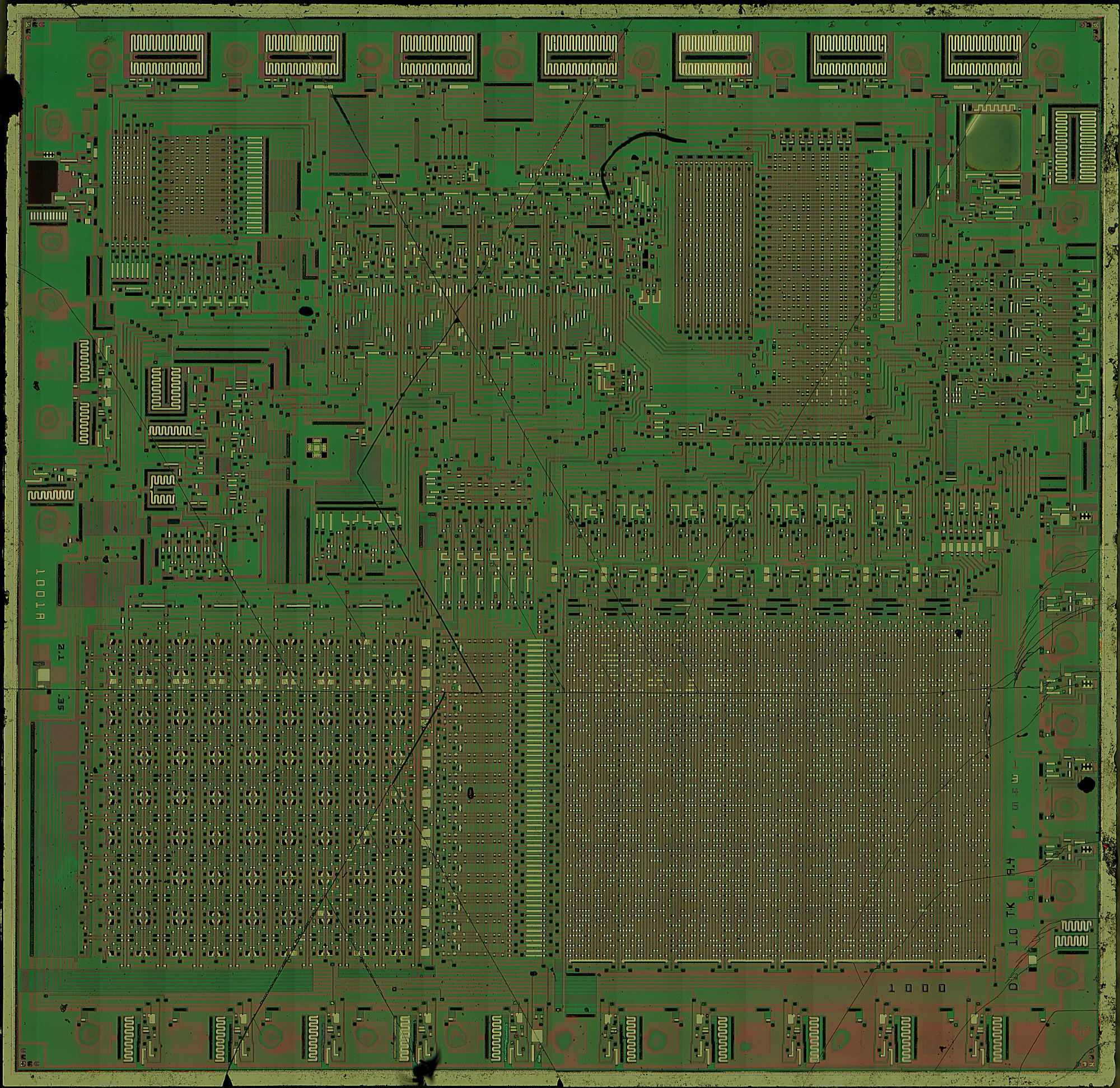 Sean Riddle's Home Page - TI Calculator Die Shots
